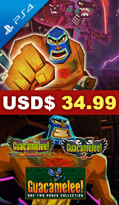 GUACAMELEE! ONE-TWO PUNCH COLLECTION, Leadman Games