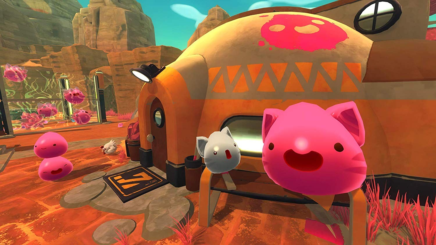 Slime Rancher, Slime Rancher [Deluxe Edition], PS4, PlayStation 4, XONE, Xbox One, Skybound Games, Monomi Park, release date, features, price, pre-order now, trailer, Slime Rancher Deluxe Edition, Europe, North America, US
