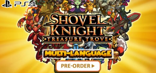 Shovel Knight, Shovel Knight: Treasure Trove, Playstation 4, PS4, Asia, release date, gameplay, features, price, pre-order, physical edition, Yacht Club Games, Multi-language, trailer, English, Chinese, Japanese