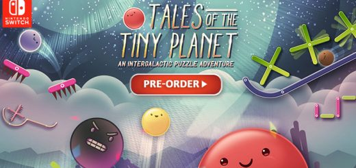 Tales of the Tiny Planet, Nintendo Switch, Europe, release date, features, price, pre-order now, trailer, Physical Edition, Funbox Media