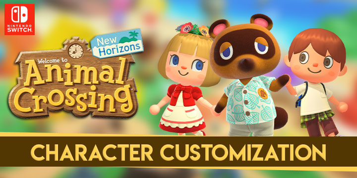 Animal Crossing, Animal Crossing: New Horizons, Nintendo Switch, US, North America, Europe, release date, gameplay, features, price, pre-order, Nintendo, trailer, updates, new details, Switch, character customization game clips, character customization features