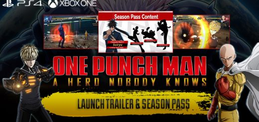 One Punch Man: A Hero Nobody Knows, Bandai Namco, Spike Chunsoft, US, North America, Europe, Australia, Japan, Release date, Gameplay, features, price, pre-order, ps4, playstation 4, xone, xbox one, release date, one punch man game, launch trailer, season pass, DLC, news, update