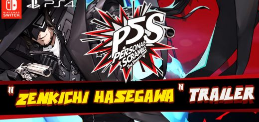 Persona 5 Scramble: The Phantom Strikers, PS4, PlayStation 4, Atlus, Nintendo Switch, Japan, Switch, Nintendo Switch, release date, features, price, pre-order now, trailer, new character trailer, Zenkichi Hasegawa, P5S, ペルソナ5スクランブル ザ・ファントムストライカーズ