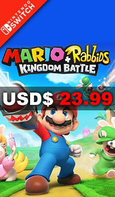 MARIO + RABBIDS: KINGDOM BATTLE Ubisoft