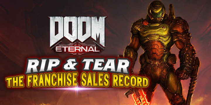 DOOM Eternal, Bethesda, PlayStation 4, PS4, Xbox One, XONE, US, North America, Europe, PAL, release date, features, gameplay, price, pre-order, Switch, Nintendo Switch, video game, Japan, Asia, news, update, sales