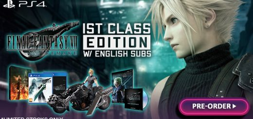 FF7, Final Fantasy 7 Remake, FF 7 Remake, Final Fantasy, Final Fantasy VII Remake, Square Enix, PS4, PlayStation 4, release date, gameplay, features, price, pre-order, Asia, 1st class edition, Collector's Edition, Final Fantasy VII Remake [1st Class Edition], Final Fantasy VII Remake First Class Edition, English subtitles