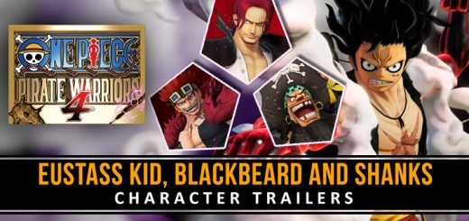 One Piece: Pirate Warriors 4, One Piece game, One Piece, Bandai Namco, PS4, PlayStation 4, Nintendo Switch, Switch, North America, US, release date, gameplay, price, trailer, reveal trailer, Xbox One, XONE, character trailer, Shanks, Eustass Kid, Blackbeard, Marshall D. Teach, One Piece Pirate Warriors 4