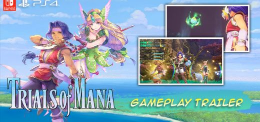 Trials of Mana, PS4, Switch, PlayStation 4, Nintendo Switch, US, North America, Europe, EU, release date, gameplay, price, pre-order, Square Enix, news, update, new gameplay trailer