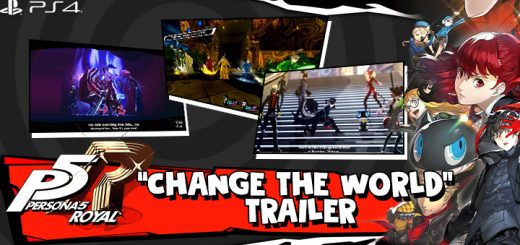 Persona 5 Royal, Persona 5: The Royal, PS4, PlayStation 4, trailer, English, release date, announced, Atlus, update, news, North America, US, Persona 5, Europe, Australia, pre-order, price, gameplay, features, Change The world trailer, new trailer