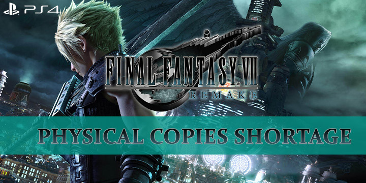 FF7, Final Fantasy 7 Remake, FF 7 Remake, Final Fantasy, Final Fantasy VII Remake, Square Enix, PS4, PlayStation 4, release date, gameplay, features, price, pre-order, update, physical copies shortage, news, FFVII Remake
