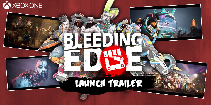 Bleeding Edge, XONE, Xbox One, US, North America, Europe, release date, features, price, pre-order now, trailer, Xbox Game Studios, Ninja Theory, launch trailer