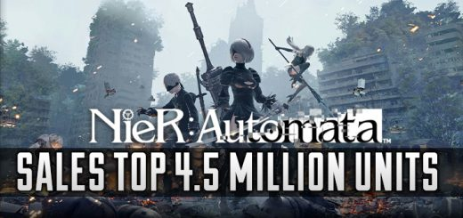 NieR: Automata, Square Enix, PlayStation 4, US, gameplay, features, trailer, screenshots, update, sales