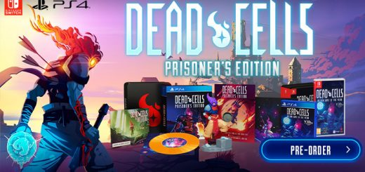 Dead Cells [The Prisoner's Edition], Switch, Nintendo Switch, Playstation 4, PS4, Europe, release date, gameplay, features, price, pre-order, physical edition, Dead Cells- Action Game of the Year, Prisoner's Edition, Merge Games, Motion Twin, Dead Cells - Prisoner's Edition