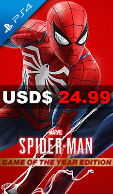 MARVEL'S SPIDER-MAN - GAME OF THE YEAR EDITION Sony Computer Entertainment