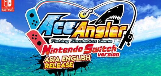 Ace Angler Nintendo Switch Version, Ace Angler, Asia, Southeast Asia, Bandai Namco, Nintendo Switch, Switch, English, release date, gameplay, features