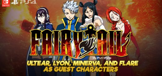 Fairy Tail, PS4, Switch, PlayStation 4, Nintendo Switch, release date, features, price, pre-order, US, North America, news, update, new trailer, Europe, Japan, Limited Edition, West, Asia, update, Ultear, Lyon, Flare, Minerva