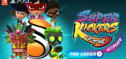 Super Kickers League Ultimate, Super Kickers League, Gameplay, price, pre-order now, screenshots, features, Europe, Physical edition, Switch, Nintendo Switch, PS4, Playstation 4, Just For Games, Xaloc Studios