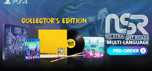 no straight roads, Game Source Entertainment, ps4, playstation 4, Asia, Japan, release date, gameplay, features, price, pre-order, multi-language, collector's edition, limited edition