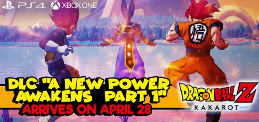 Dragon Ball Z: Kakarot, Dragon Ball, Video Game, Xone, Xbox One, PS4, PlayStation 4, US, North America, EU, Europe, Release Date, Gameplay, Features, price, buy now, Bandai Namco, Cyberconnect2, update, news, DLC, A New Power Awakens – Part 1, Season Pass