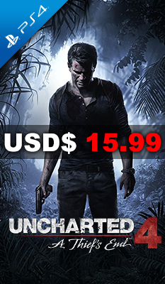 UNCHARTED 4: A THIEF'S END Sony Computer Entertainment