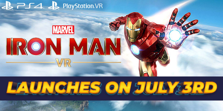Marvel's Iron Man VR, Marvel, Iron Man, Iron Man VR, Sony Computer Entertainment, PS4, PSVR, PlayStation 4, PlayStation VR, US, Europe, Pre-order, update, release date