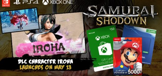 Samurai Spirits, Samurai Shodown, SNK, PS4, PlayStation 4, Japan, US, North America, Nintendo Switch, Xbox One, XONE, DLC, DLC Character, Iroha, new trailer, character trailer, news, update, release date