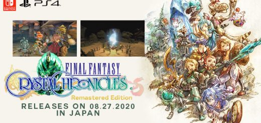 Final Fantasy Remastered, Final Fantasy Crystal Chronicles Remastered Edition, Switch, Nintendo Switch, PS4, Playstation 4, Japan, Release Date, Gameplay, Features, Price, Pre-order Now, Square Enix, Update, News, August 27, Final Fantasy Crystal Chronicles [Remastered Edition], FF Crystal Chronicles Remastered