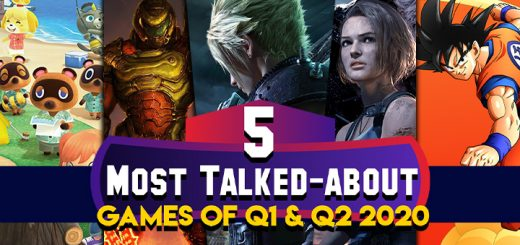 Animal Crossing: New Horizons, Doom Eternal, Final Fantasy VII Remake, Resident Evil 3 Remake, Dragon Ball Z: Kakarot, most-talked about games, games, video games, nintendo switch, switch, ps4, playstation 4, xone, xbox one
