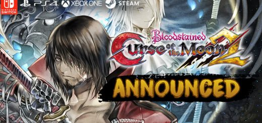 Bloodstained: Curse of the Moon 2, Bloodstained: Curse of the Moon, Bloodstained, PlayStation 4, Xbox One, Nintendo Switch, PC, PS4, XONE, Switch, Steam, announced