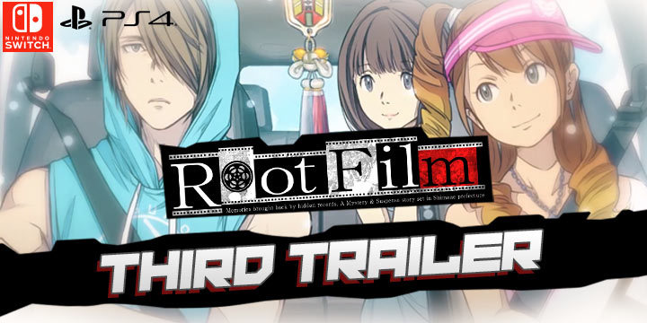 Root Film, PlayStation 4, Nintendo Switch, Japan, Pre-order, Kadokawa Games, ルートフィルム, PS4, Switch, features, gameplay, release date, screenshots, update, third trailer