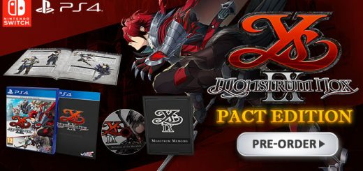 Ys IX: Monstrum Nox, NIS America, release date, trailer, features, NGPX, PS4, Switch, PlayStation 4, Nintendo Switch, pre-order, price, Pact Edition