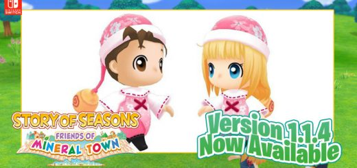STORY OF SEASONS: Friends of Mineral Town, Harvest Moon: Friends of Mineral Town Remake, Harvest Moon, Harvest Moon: Friends of Mineral Town, Nintendo Switch, Switch, Marvelous, gameplay, features, release date, price, trailer, screenshots, Western release, update, Europe, Japan, Sakura Korpokkur Outfit
