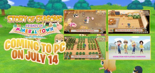 STORY OF SEASONS: Friends of Mineral Town, Harvest Moon: Friends of Mineral Town Remake, Harvest Moon, Harvest Moon: Friends of Mineral Town, Nintendo Switch, Switch, Marvelous, gameplay, features, release date, price, trailer, screenshots, Western release, update, Europe, Japan, PC