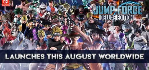 Jump Force, Jump Force Deluxe Edition, Nintendo Switch, Switch, Bandai Namco, US, North America, Europe, Japan, Asia, release date, gameplay, features, price, update, screenshots, trailer, Western Release Date, Japan Release Date