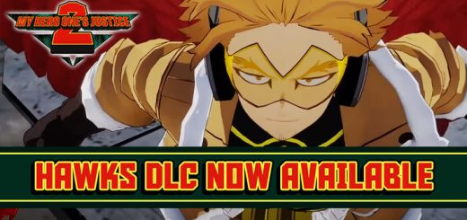 My Hero One's Justice 2, My Hero One's Justice, My Hero Academia, Boku no Hero Academia, PS4, PlayStation 4, Xbox One, XONE, Nintendo Switch, Switch, Bandai Namco Entertainment, Bandai Namco, Boku no Hero Academia: One's Justice 2, characters, update, Japan, Asia, features, gameplay, trailer, screenshots, update, Hawks, DLC