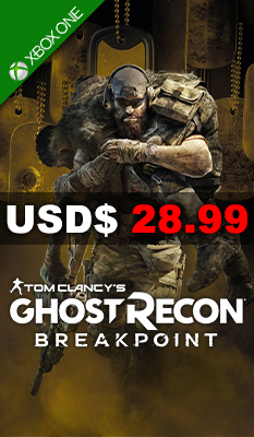 TOM CLANCY'S GHOST RECON: BREAKPOINT [GOLD EDITION STEELBOOK] Ubisoft
