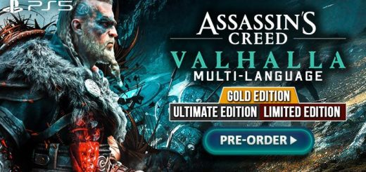 Assassin's Creed Valhalla, Assassin's Creed, Ubisoft, PlayStation 5, PS5, release date, gameplay, features, price, Asia, trailer, Limited Edition, Gold Edition, Ultimate Edition, Multi-Language
