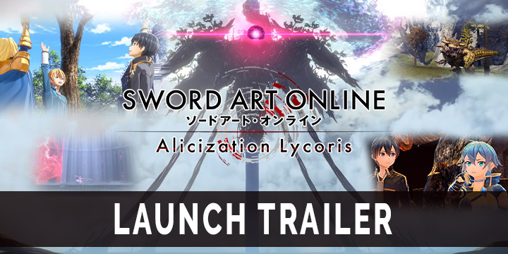 Sword Art Online: Alicization Lycoris, SAO: Alicization Lycoris, Bandai Namco, japan release date, gameplay, us, north america, features, ps4, playstation 4, xbox one, Launch Trailer, Gameplay footage, Sword Art Online