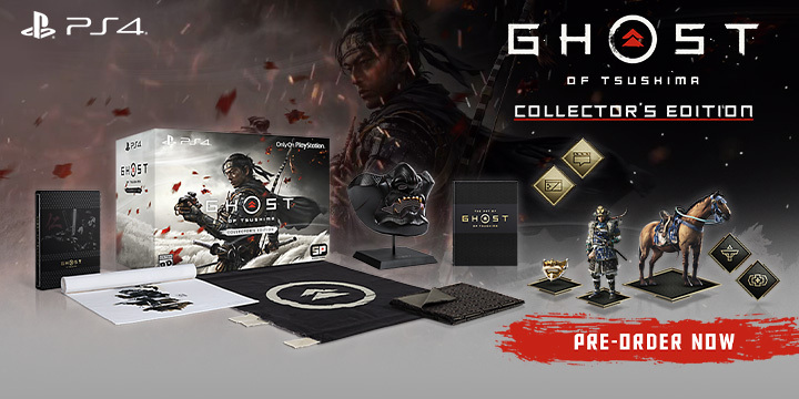Ghost of Tsushima, Sony Computer Entertainment, Sony, PlayStation 4, US, Europe, PS4, gameplay, features, release date, price, trailer, screenshots, Asia, collector's edition, Japan