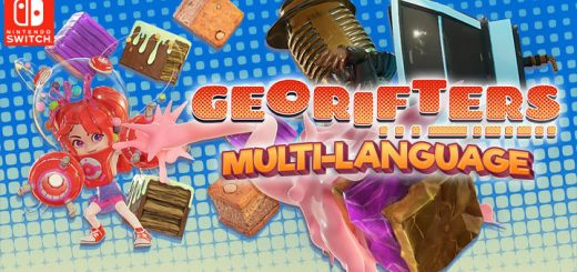 Georifters, Nintendo Switch, Switch, Asia, Multi-language, pre-order, gameplay, features, release date, price, trailer, screenshots, Leoful