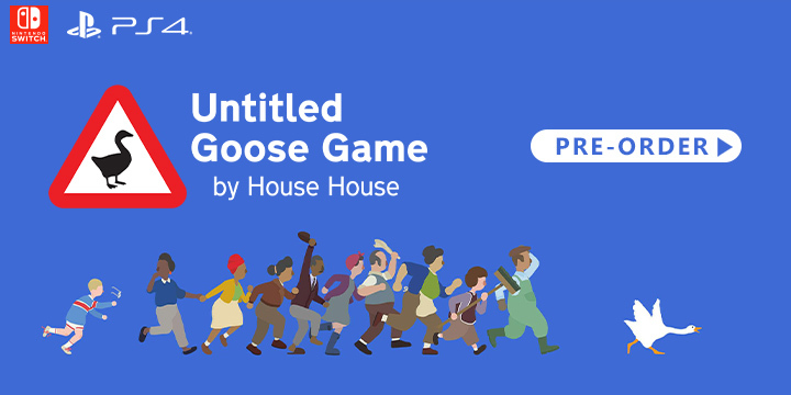 Skybound Games, Untitled Goose Game, PlayStation 4, Nintendo Switch, PS4, Switch, gameplay, features, release date, price, trailer, screenshots