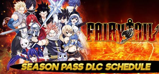 Fairy Tail, PS4, Switch, PlayStation 4, Nintendo Switch, Japan, US, Europe, Asia, update, DLC, Season Pass, schedule