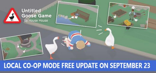 Skybound Games, Untitled Goose Game, PlayStation 4, Nintendo Switch, PS4, Switch, gameplay, features, release date, price, trailer, screenshots, update