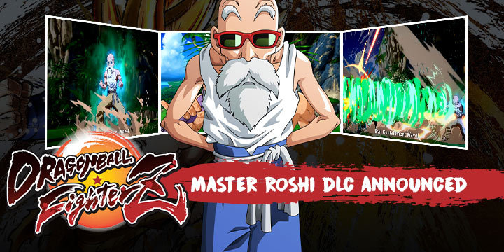 Dragon Ball Fighterz Master Roshi Dlc Announced Learn More Here