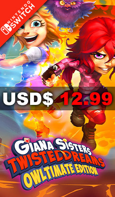 GIANA SISTERS: TWISTED DREAMS [OWLTIMATE EDITION] THQ Nordic