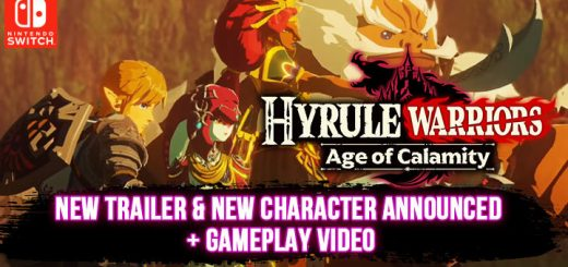 Hyrule Warriors, Hyrule Warriors: Age of Calamity, Nintendo Switch, Switch, US, Europe, Japan, Asia, gameplay, features, release date, price, trailer, screenshots, Nintendo, Koei Tecmo, TGS 2020, TGS, Tokyo Game Show, Tokyo Game Show 2020