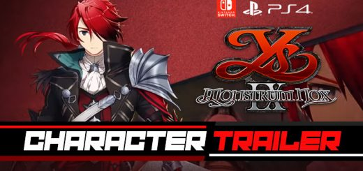 Ys IX: Monstrum Nox, NIS America, release date, trailer, features, NGPX, PS4, Switch, PlayStation 4, Nintendo Switch, pre-order, price, Pact Edition, Ys 9 Monstrum Nox, Character Trailer, Western Release