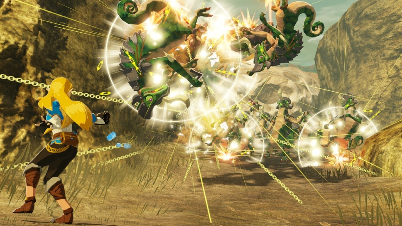 Hyrule Warriors Age Of Calamity New Information From Tgs 2020 Online