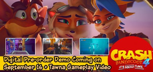 Crash Bandicoot 4, Crash Bandicoot, Crash Bandicoot 4: It's About Time, Activision, PlayStation 4, Xbox One, US, pre-order, gameplay, features, release date, price, trailer, screenshots, update, demo, Tawna Bandicoot