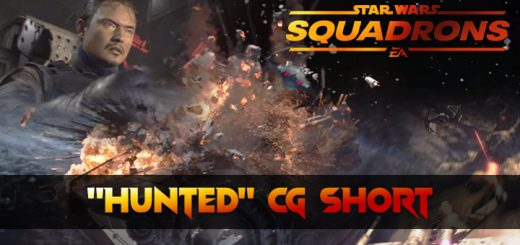Star Wars, Star Wars Squadrons, Star Wars: Squadrons, Electronic Arts, Motive Studios, Xbox One, XONE, PS4, PlayStation 4, US, North America, Europe, release date, gameplay, features, price, screenshots, trailer, CG Short, Hunted CG Short, Hunted CG short film